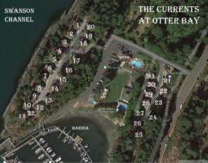 Pender island map